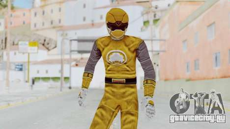 Power Rangers Ninja Storm - Yellow для GTA San Andreas