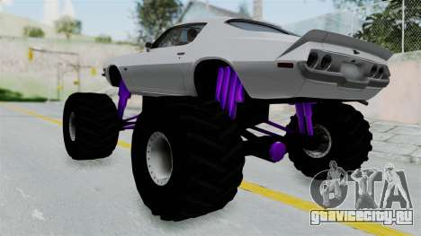 Chevrolet Camaro Z28 1970 Monster Truck для GTA San Andreas вид слева