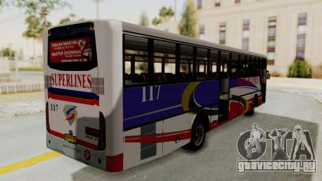 Superlines Ordinary Bus для GTA San Andreas вид справа