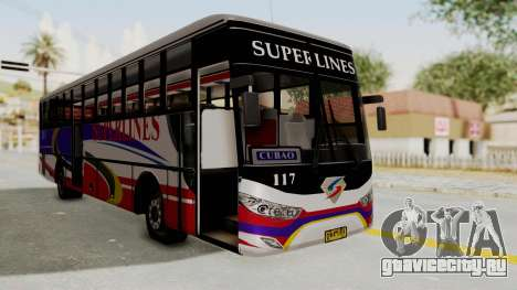 Superlines Ordinary Bus для GTA San Andreas