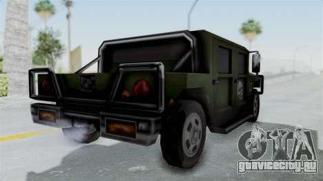Patriot from Manhunt 2 для GTA San Andreas вид справа