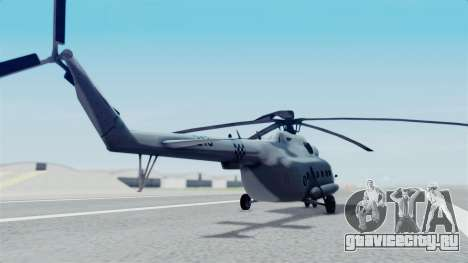 Mi-8 Croatian для GTA San Andreas вид слева