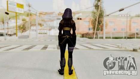 Mass Effect 3 Tali Armor для GTA San Andreas третий скриншот