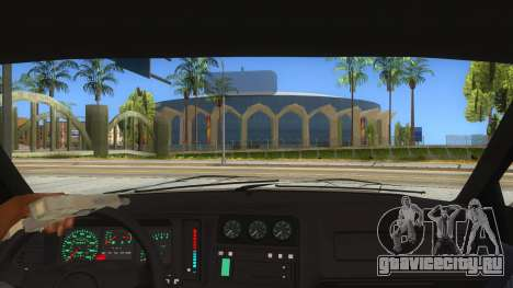 Ford Sierra Sapphire Cosworth для GTA San Andreas вид изнутри
