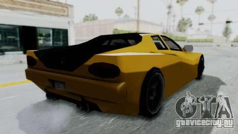 Cheetah ZTR v1 для GTA San Andreas вид слева