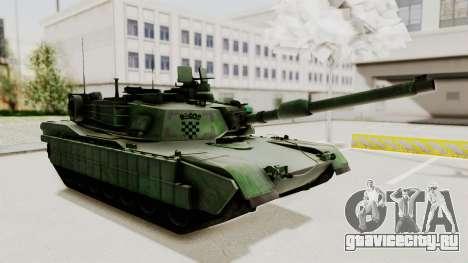 M1A2 Abrams Woodland Croatian для GTA San Andreas