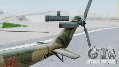 Mi-24V Russian Air Force 46 для GTA San Andreas вид сзади слева