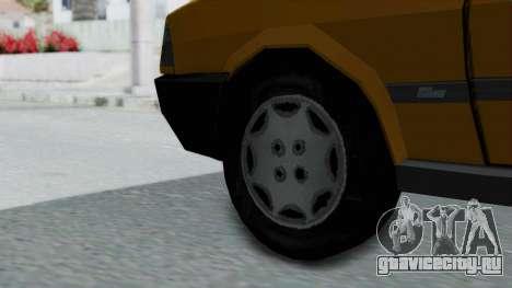 Tofas Kartal Taxi для GTA San Andreas вид сзади слева