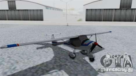 Ultralight Allegro 2000 v4 для GTA San Andreas вид сзади слева