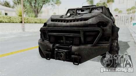 PITBULL from CoD Advanced Warfare для GTA San Andreas вид слева