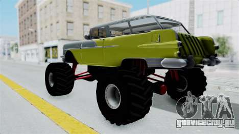 Pontiac Safari 1956 Monster Truck для GTA San Andreas вид сзади слева