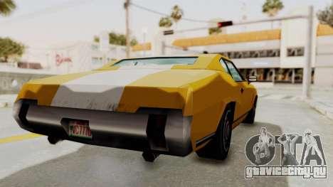 GTA VCS - Cholo Sabre для GTA San Andreas вид сзади слева