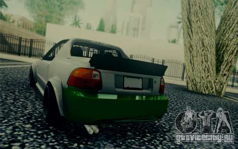 Honda Stance для GTA San Andreas вид сзади слева