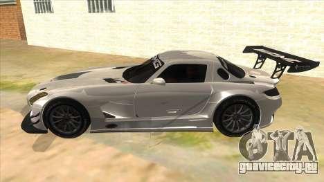 Mercedes Benz SLS AMG GT3 для GTA San Andreas вид слева