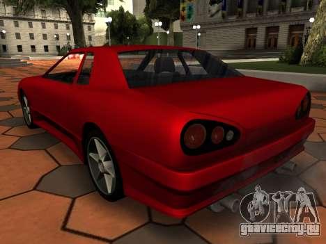 Elegy PFR v1.0 для GTA San Andreas колёса