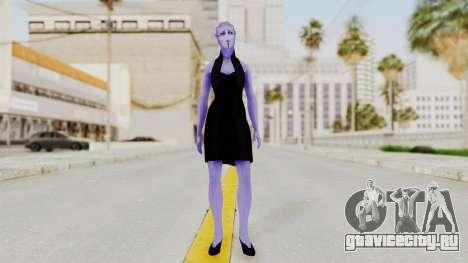 Mass Effect 3 Aria TLoak Gunn Dress для GTA San Andreas второй скриншот