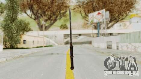 Skyrim Iron Tanto для GTA San Andreas третий скриншот