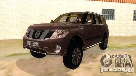 Nissan Patrol 2016 для GTA San Andreas