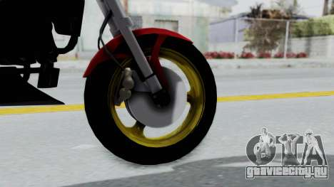Ducati Monster для GTA San Andreas вид сзади слева