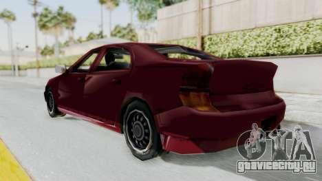 GTA 3 Kuruma для GTA San Andreas вид сзади слева