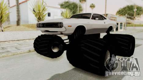 Dodge Challenger 1970 Monster Truck для GTA San Andreas