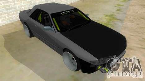Nissan Skyline R32 Drift Monster Energy для GTA San Andreas вид сзади