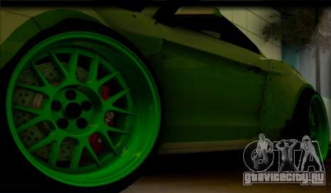Ford Mustang RTRX Coupe для GTA San Andreas вид сзади