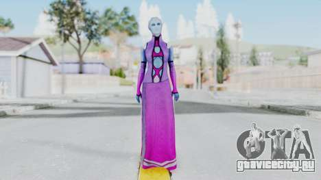Mass Effect 1 Shaira Dress для GTA San Andreas второй скриншот