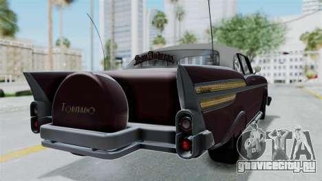 GTA 5 Declasse Tornado Bobbles and Plaques для GTA San Andreas вид слева