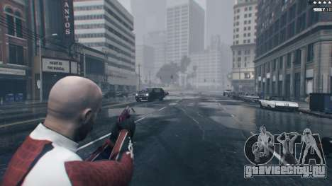 Bullet Knockback 1.4b для GTA 5