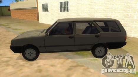 Kartal 2007 69 Serisi для GTA San Andreas вид слева