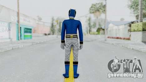 Power Rangers Megaforce - Blue для GTA San Andreas третий скриншот