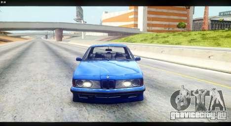 BMW M635 CSi (E24) для GTA San Andreas вид справа