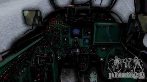 Mi-24V Ukraine Air Force 010 для GTA San Andreas вид сзади