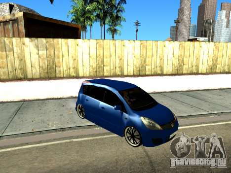 Nissan Note KURMIN StreetRacer для GTA San Andreas вид слева