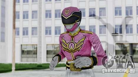 Power Rangers Samurai - Pink для GTA San Andreas