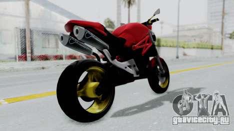 Ducati Monster для GTA San Andreas вид слева