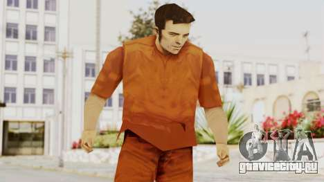 Claude Speed (Prision) from GTA 3 для GTA San Andreas
