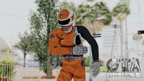 Power Rangers S.P.D - Orange для GTA San Andreas