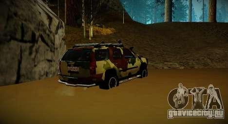 Chevrolet Tahoe LTZ v2 Camofluge для GTA San Andreas вид слева