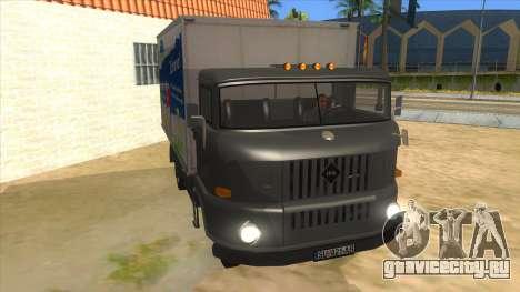 IFA W50 для GTA San Andreas вид сзади