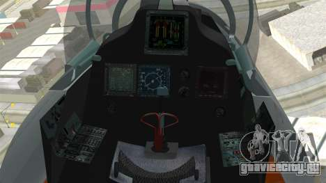 SU-30 MKI для GTA San Andreas вид справа