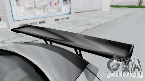 Nissan GT-R R35 2010 Liberty Walk для GTA San Andreas вид сзади