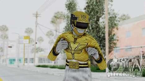 Power Rangers Megaforce - Yellow для GTA San Andreas