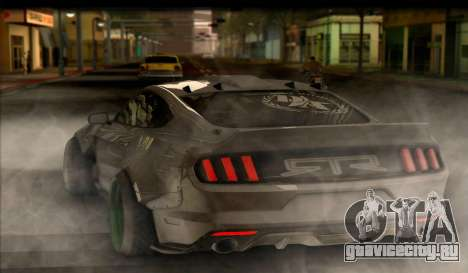 Ford Mustang RTRX Coupe для GTA San Andreas вид слева