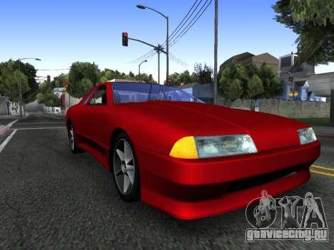 Elegy PFR v1.0 для GTA San Andreas салон