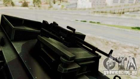 Alvis AT105E Saxon для GTA San Andreas вид сзади