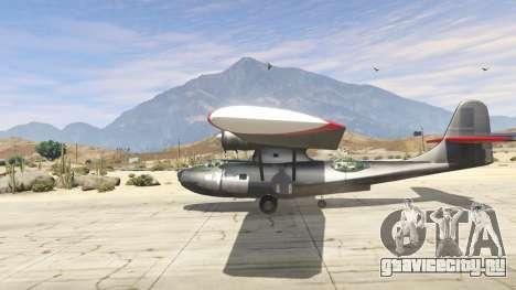 PBY 5 Catalina для GTA 5 второй скриншот