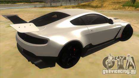 2015 Aston Martin Vantage GT12 для GTA San Andreas вид справа
