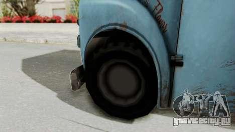 Hitman Absolution - Ice Cream Van для GTA San Andreas вид сзади слева